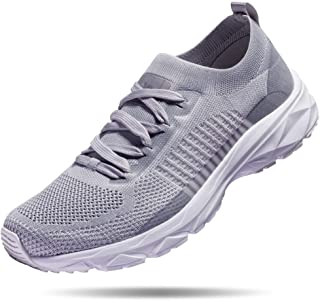 Mens Lightweight Running Shoes Athletic Tennis Slip on Walking Shoes Breathable Casual Fashion Sneakers