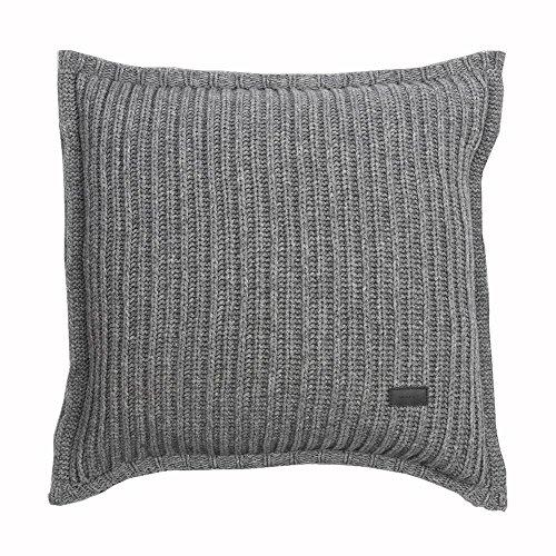 GANT Home Rib Knit Kissenhülle 50x50 Grey