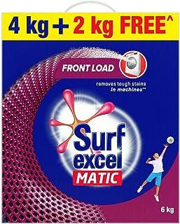 surf excel matic front load powder detergent (4+2kg free)