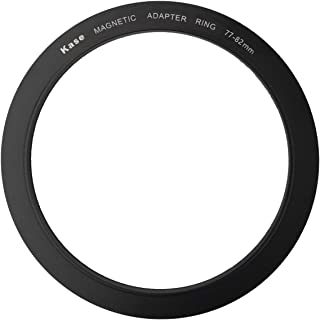 Kase Wolverine 77mm to 82mm Magnetic Step Up Filter Ring Adapter 77 82