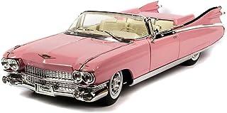 1959 Cadillac Eldorado Biarritz Convertible, Pink - Maisto Premiere 36813 - 1/18 Scale Diecast Model Toy Car by Maisto