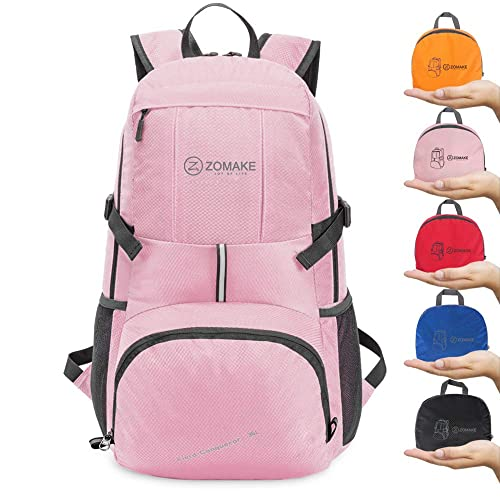 e05a6097ab ZOMAKE Lightweight Foldable Backpack 35L