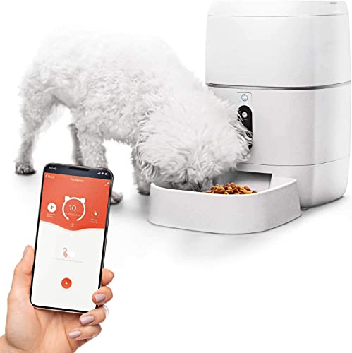 high quality Home Zone Pet Automatic Feeder online - Smart Wireless Pet Feeder for Small Dogs and Cats, popular 6L online