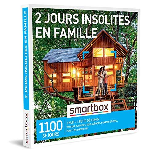 Coffret Smartbox 2 jours insolites en famille