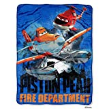 Northwest Disney's Planes Fire & Rescue Planes to The Rescue Micro Raschel Throw - 46'x60'