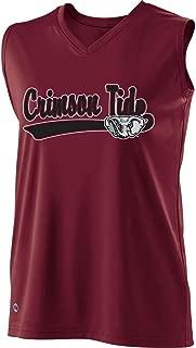 Holloway Sportswear Girls Curve Sleeveless Replica Jersey. 228253 Alabama L