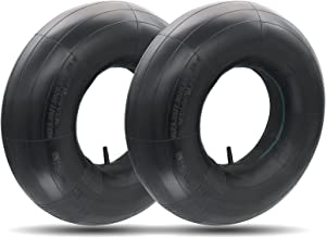 20x8.00-8 Inner Tubes Replacement Inner Tubes-Universal Fits Inner Tubes Straight Valve Stem Compatible with Lawn Mowers,Tractors,Snow Blower,Golf Carts,and Garden Trailer,with TR13(2 PACKS)