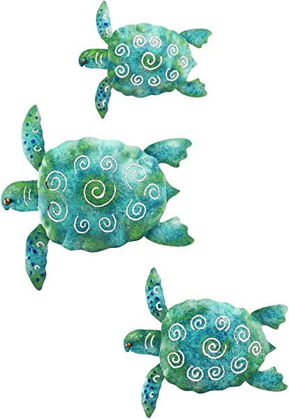 Regal Art And Gift Sea Turtle Wall Decor Set Of 3