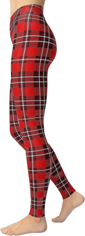 VIV Collection Women's High Waist Print Fashion Leggings Pants Brushed Buttery Soft List 6