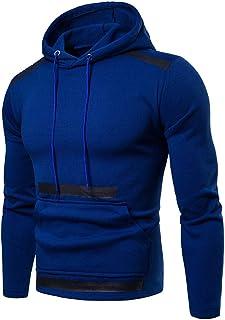 IFOUNDYOU Tractor Hoodies for Men 2019 New Casual Men's Sweatshirts Men's Long Sleeve Autumn Winter Patchwork Zipper Hoodi...