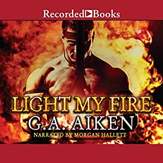 Light My Fire     Dragon Kin, Book 7              Auteur(s):                                                                                                                                 G.A. Aiken                               Narrateur(s):                                                                                                                                 Morgan Hallett                      Durée: 15 h et 15 min     1 évaluation     Au global 5,0