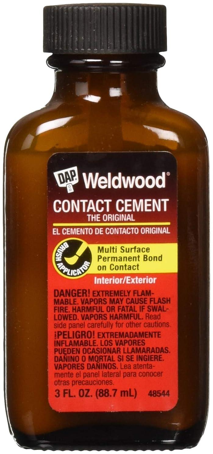 Weldwood, Contact Cement, 3 FL.OZ, (PACK OF 36)