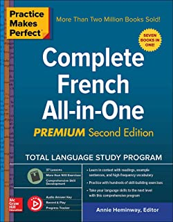 Practice Makes Perfect: Complete French All-In-One, Premium