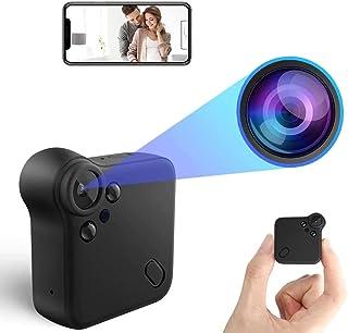 ZumYu Mini Cámaras espía Oculta Camara Espia WiFi Camaras de vigilancia 1080P HD Magnética Micro Camara Detector de Movimi...