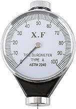 Akozon Shore Type Hardness Tester Rubber Tire Durometer/O/D Meter 0-100 HA