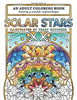 Solar Stars: An Adult Coloring Book (Explore the Stars!)