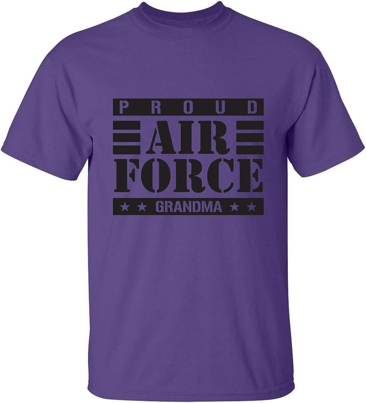 zerogravitee Proud Air Force Grandma Adult Short Sleeve T-Shirt