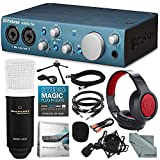 PreSonus AudioBox iTwo USB 2.0 & iPad MIDI/Audio Recording Interface and Delxue Bundle w/Condenser Microphone + Closedback Headphones + More