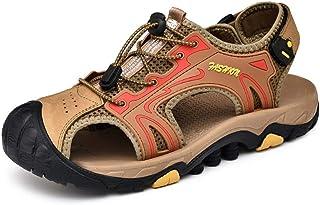0c0f2df2fdb8b YEEWEN Mode Été confortable en plein air sandales pour hommes respirant  loisirs plage chaussures fermé bout