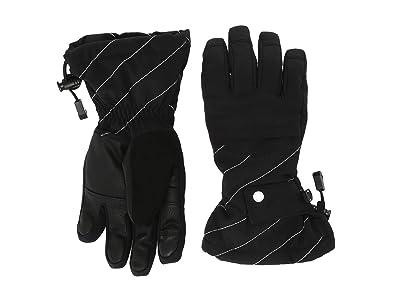 Spyder Kids Synthesis (Little Kids/Big Kids) (Black) Extreme Cold Weather Gloves