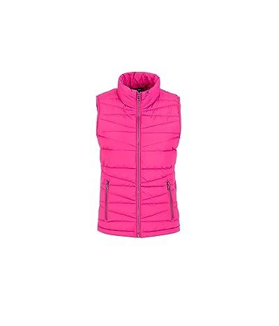 Tribal Lightweight Puffer Vest (Hot Pink) Women