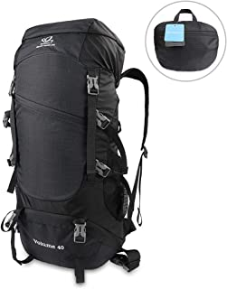 WATERFLY 40L Hiking Backpack Foldable Bag Portable Lightweight Hiking Daypack