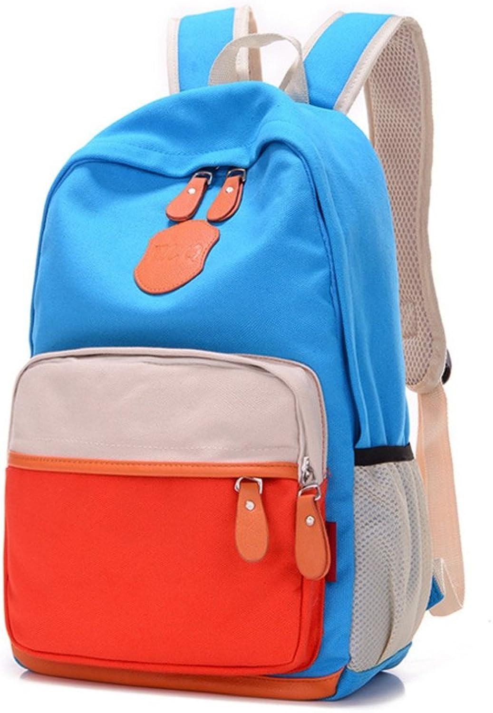 Waterproof Canvas Casual Backpacks, Fashion Riding Hiking Rucksack Women Men Sports Breathable Cute Backpack UltraLight Unisex Travel School Bag (Design   A)