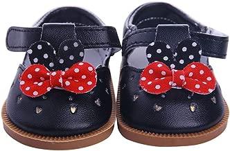 Gazechimp 7,3cm Puppen Schuhe Badesandalen F/ür Amerikanische M/ädchen Puppe 46cm Rosa
