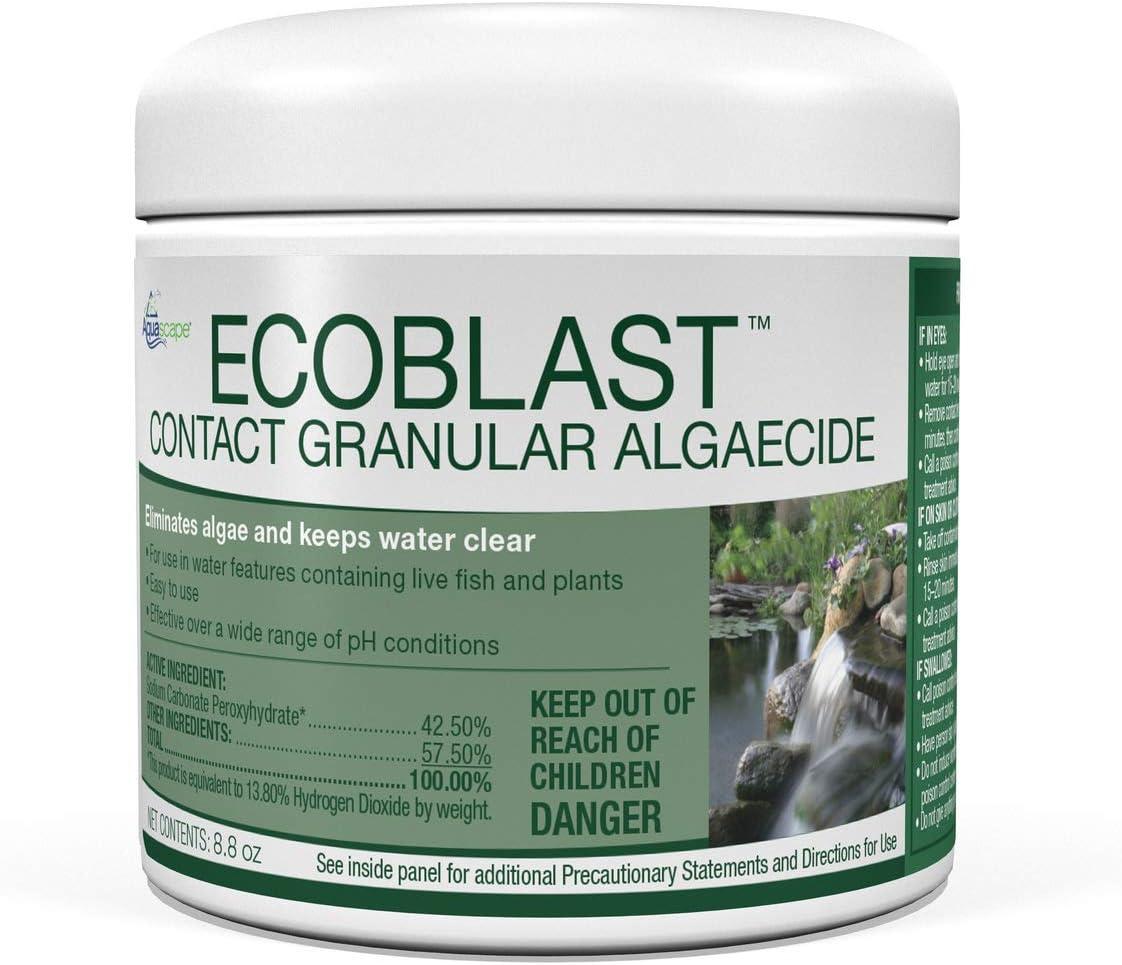 Aquascape Award-winning store 29311 EcoBlast Pond Algaecide Whit oz Excellence 8.8 Granular