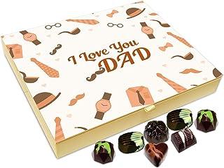 Chocholik Fathers Day Gift Box - I Love You Dad Chocolate Box - 20pc