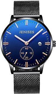 Men's Wrist Watch Men Classic WatchSimple Design Analog Watch Fashion Stainless Steel Waterproof Men's Watch Ultra-Thin Quartz Watch