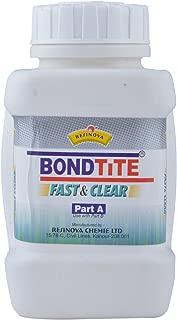 Unknown Bondtite Resinova -Fast & Clear - Part A (250 Grams)