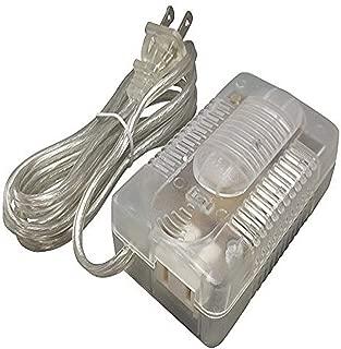 iLightingSupply 55-3005-48 Plug-In Floor Slide Lamp Dimmer - Clear