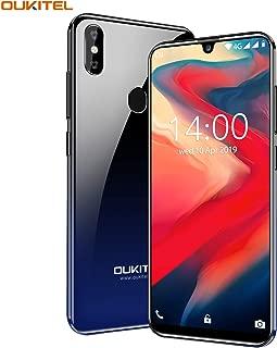 スマートフォン OUKITEL C15 Pro 4G SIMフリースマートフォン本体 3GB RAM + 32GB ROM 6.1インチHD +大画面Android 9.0 携帯電話 デュアルSIM グローバルLTEバンド対応スマホ8MP + 2MP / 5MPカメラフェイスと指紋ロック解除 (星空ブルー)