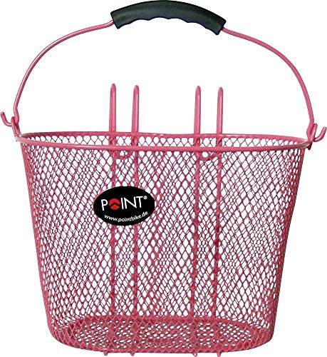 Point Kinder Fahrradkorb VR Colour, rosa, 25x16x16cm, 05107705