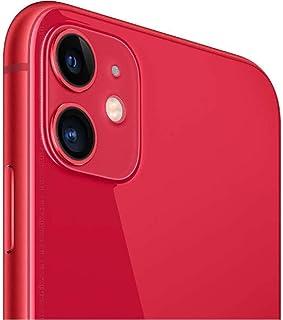 Apple iPhone 11, 128GB, Unlocked - Red (Renewed)