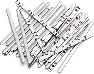 200 PCS Nose Bridge for Mask Nose Wire Flexible Nose Clip for Face Mask Flat Metal Aluminum Strips