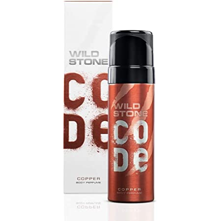 Wild Stone Code Copper Body Perfume Spray for Men, 120 ml