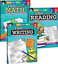 180 Days of Practice for Second Grade (Set of 3), 2nd Grade Workbooks for Kids Ages 6-8, Includes 180 Days of Reading, 180 Days of Writing, 180 Days of Math PDF