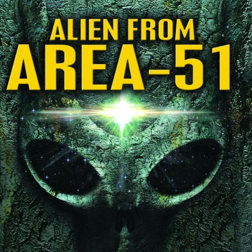 Alien from Area 51 audiobook cover art