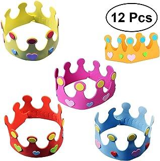 TOYMYTOY Sombrero de la corona del cuarto de niños del sombrero de la corona del cumpleaños