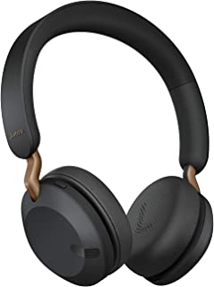 Jabra Elite 45h trådlösa on-ear Headphones - Kompakta, vikbara earphones med 50 timmars batteritid - Två mikrofoner - kopp...
