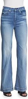 rag & bone Womens Justine High Waist Wide Leg Jean - Size 27