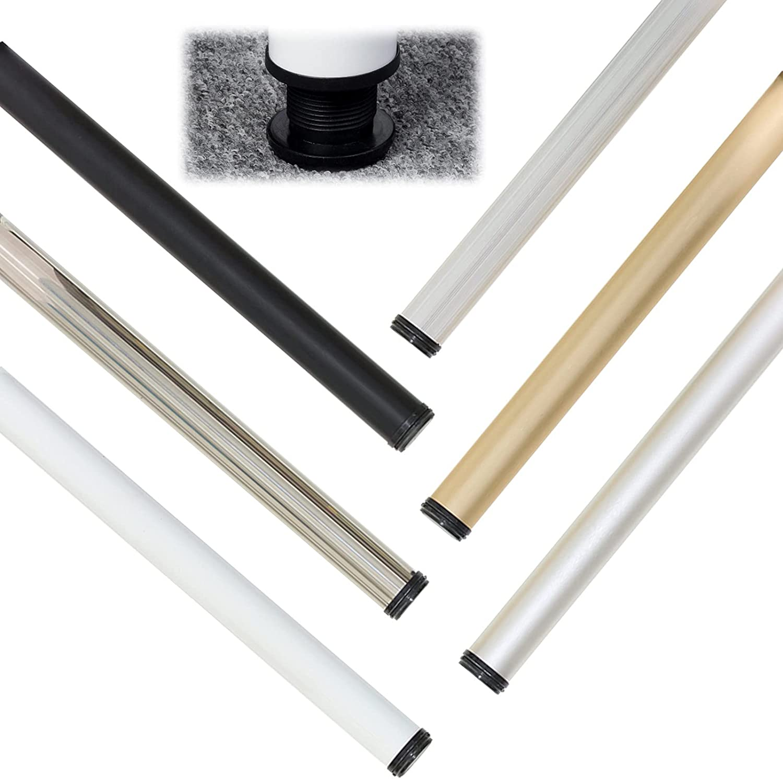 AILILI Set of 5 ☆ popular Challenge the lowest price 4 Furniture Feet Color Riser Silver Black Leg Gold