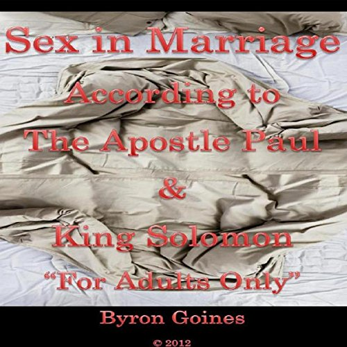 Sex in Marriage audiobook cover art