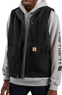 Men's Sherpa Lined Mock-Neck Vest