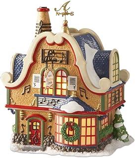 Department 56 North Pole Village Augies Christmas Carols Lit Building