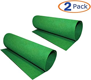 Reptile Carpet, 2 Pack of Bearded Dragon Mat Terrarium Substrate Liner Bedding for Snake Turtle Lizard Geckos Hermit Crabs (24 x 16 in)