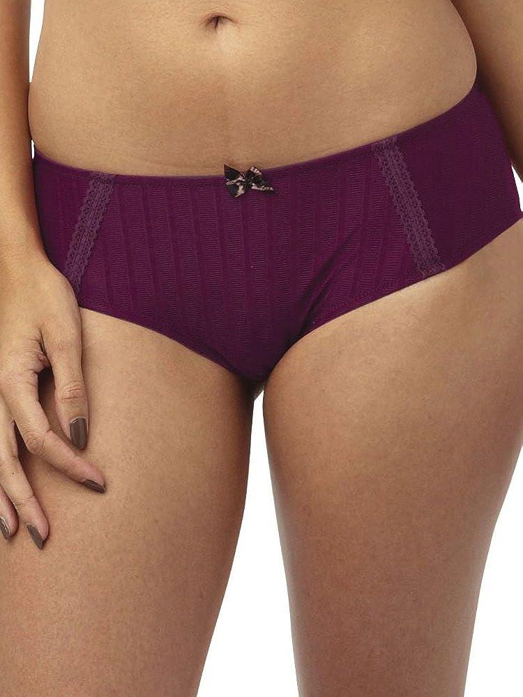 Cleo by Panache Women's Plus Size Maddie Brief Panty, Burgundy, XX
