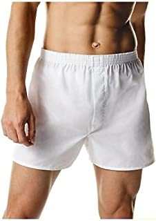Hanes 436B Men's TAGLESS Full-Cut Boxer with Comfort Flex Waistband 3-Pack